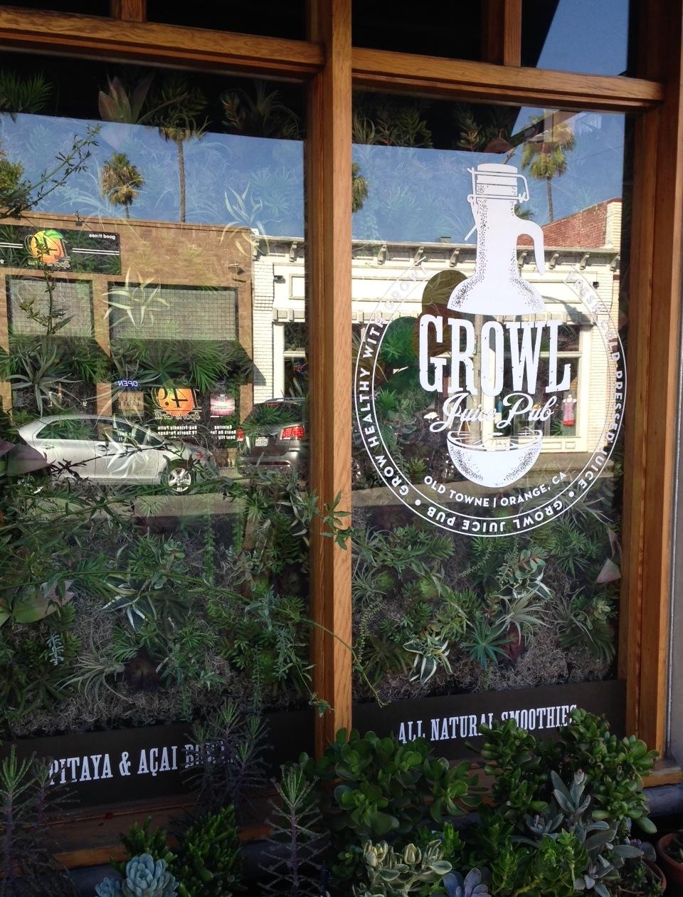 Growl Juice Pub