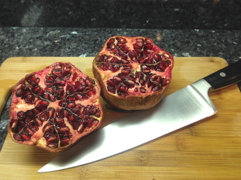 Pomegranate, seeds
