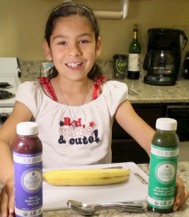 How to make a healthy and tasty popsicle recipe with only 2 ingredients, made by a kid for both kids and adults to enjoy