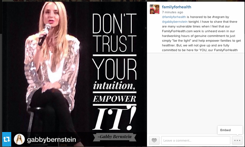 A Moment of Grace on Instagram with Gabby Bernstein