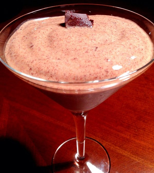 We all Scream for Fancy Ice Cream: Cacao Banana Custard