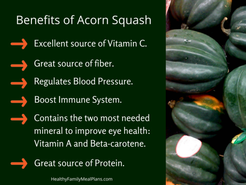 Benefits of Acorn Squash