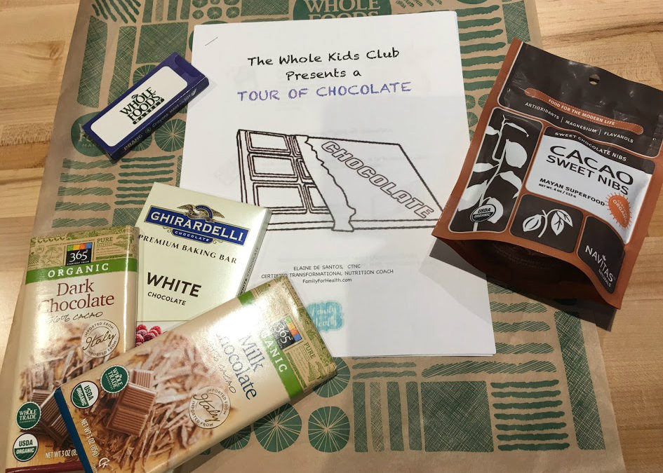 Tour of Chocolate For Kids at Whole Foods Market